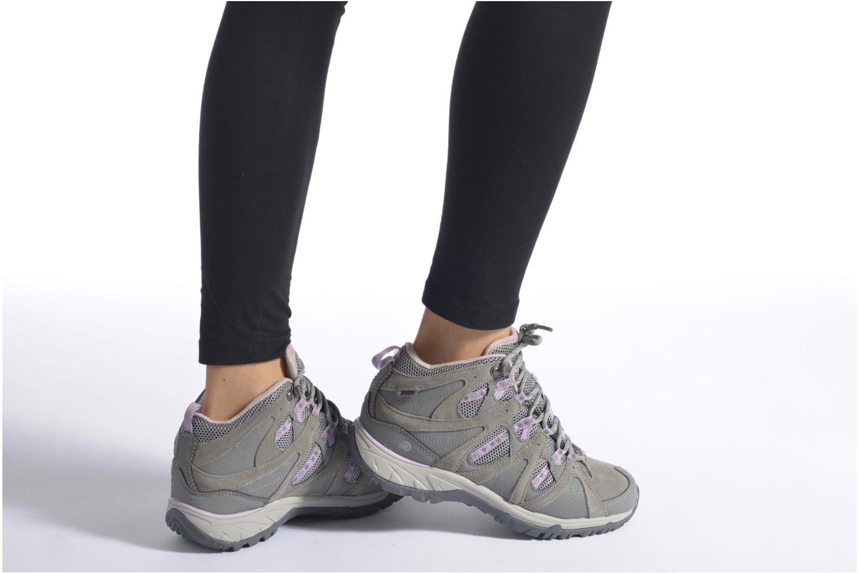 Chaussures de sport Hi-Tec Equilibrio Colada Mid I Wp Wo'S Gris vue bas / vue portée sac