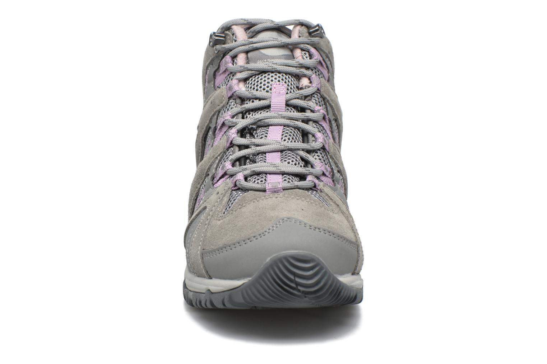 Chaussures de sport Hi-Tec Equilibrio Colada Mid I Wp Wo'S Gris vue portées chaussures
