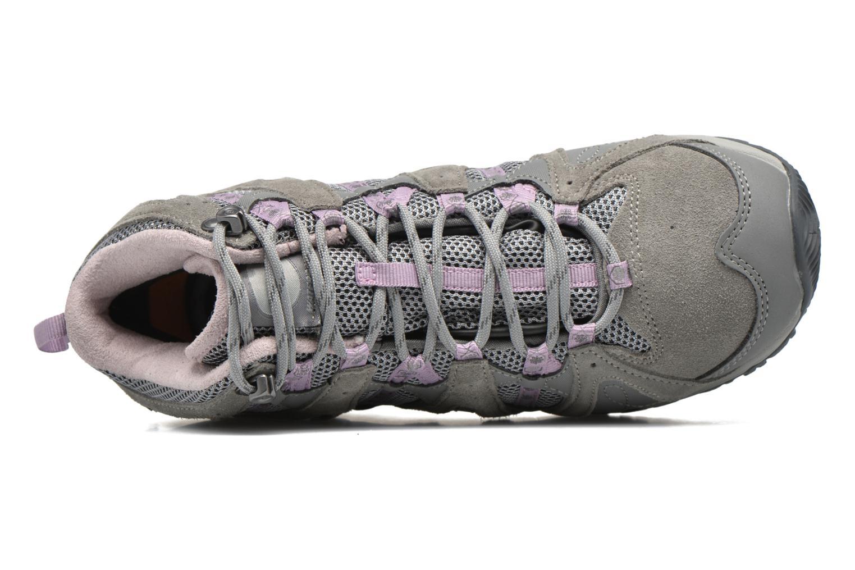 Chaussures de sport Hi-Tec Equilibrio Colada Mid I Wp Wo'S Gris vue gauche