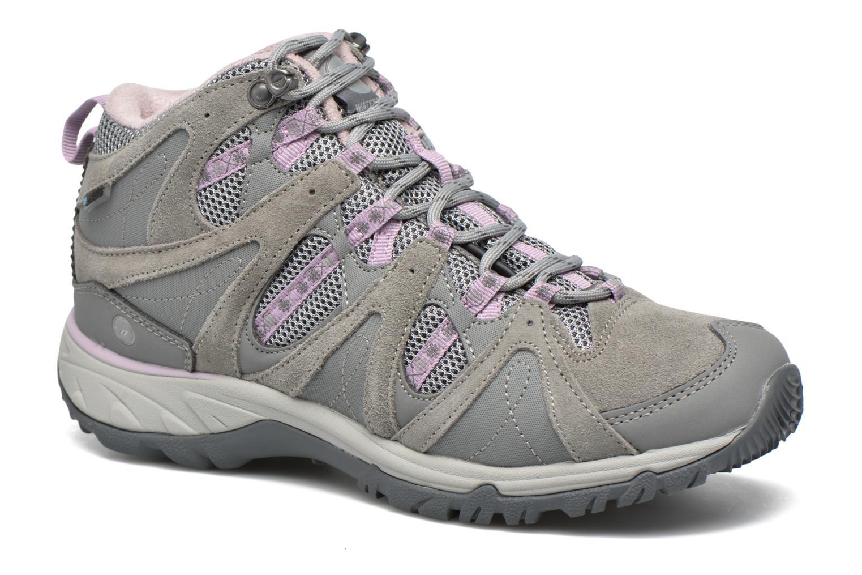 Chaussures de sport Hi-Tec Equilibrio Colada Mid I Wp Wo'S Gris vue détail/paire