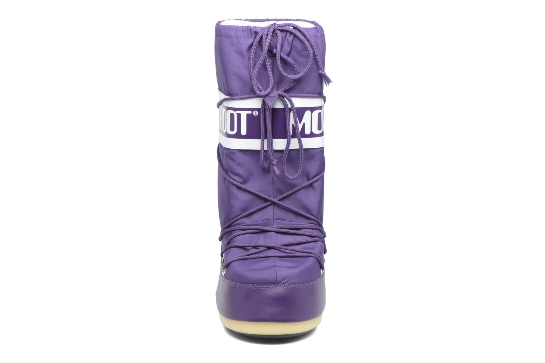 Chaussures de sport Moon Boot Moon Boot Nylon M Violet vue portées chaussures