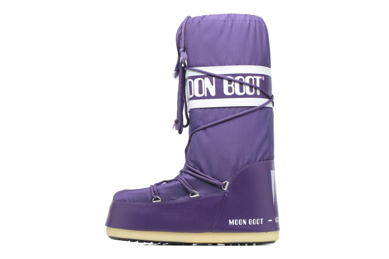 Chaussures de sport Moon Boot Moon Boot Nylon M Violet vue face