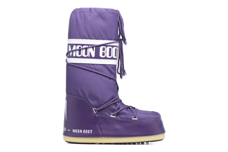 Chaussures de sport Moon Boot Moon Boot Nylon M Violet vue derrière