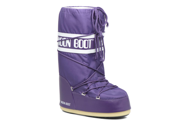 Chaussures de sport Moon Boot Moon Boot Nylon M Violet vue détail/paire