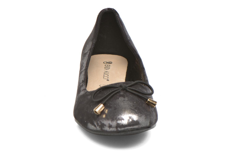 Ballerines Enza Nucci Manon Argent vue portées chaussures