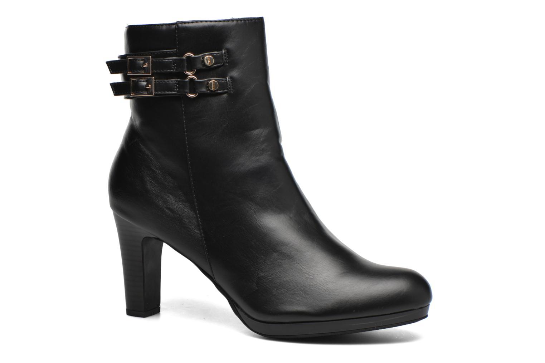 Ankelstøvler Enza Nucci Audrey Sort detaljeret billede af skoene