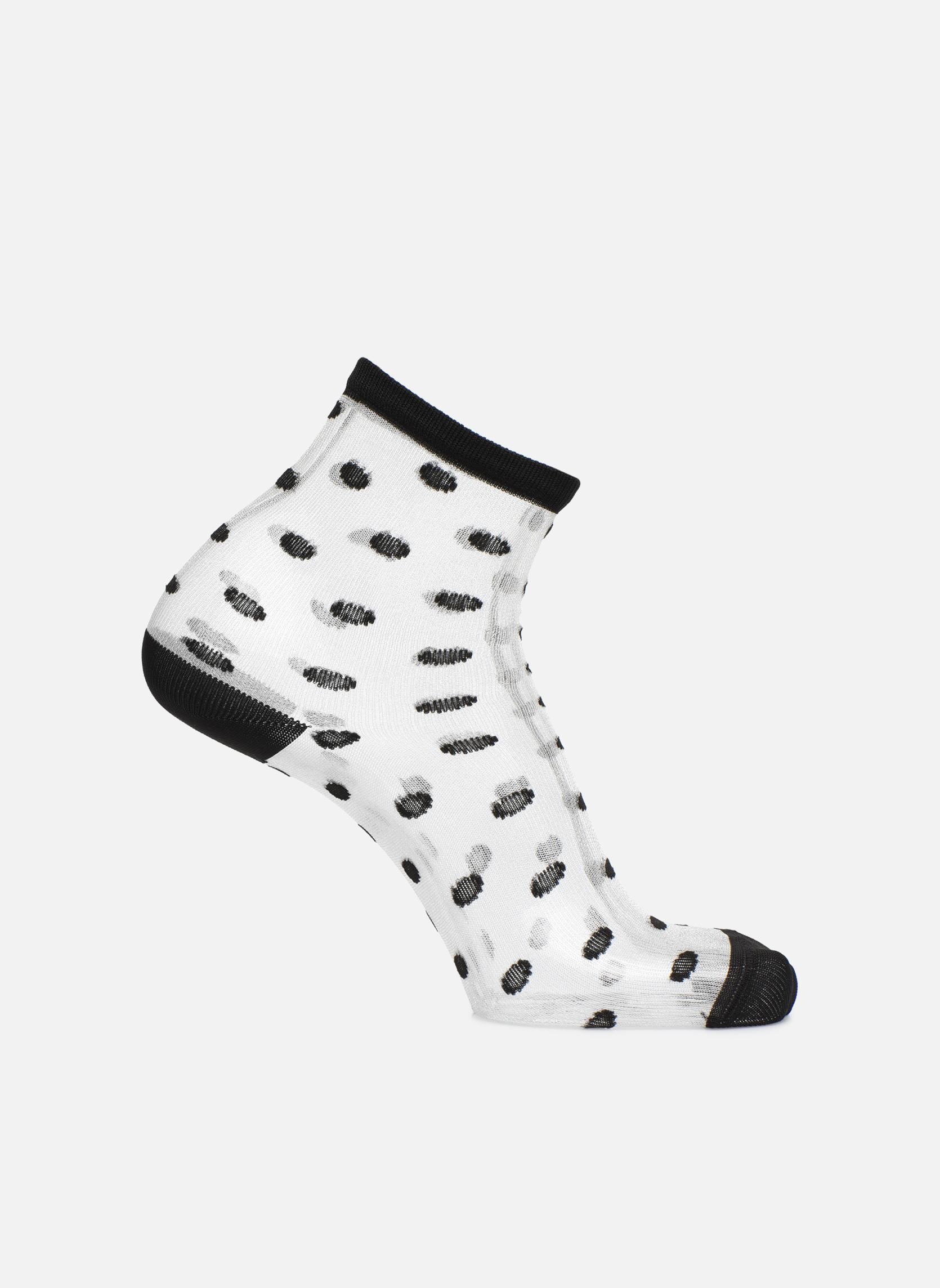 Socks & tights Sarenza Wear Chaussettes transparente Femme Black detailed view/ Pair view