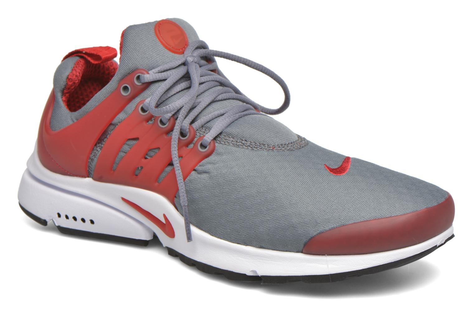 Nike Air Presto Essential Cool Grey/Gym Red-White-Black