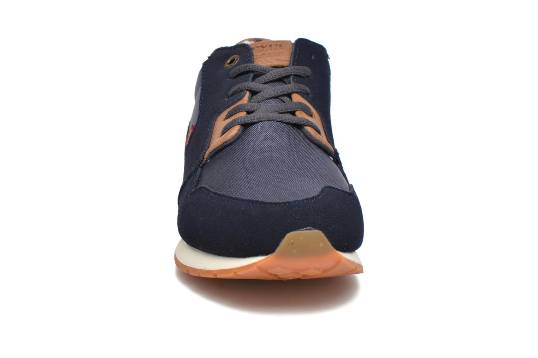 Baskets Levi's NY Runner II Bleu vue portées chaussures