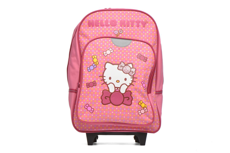 Hello Kitty Sac à dos à roulettes Rose