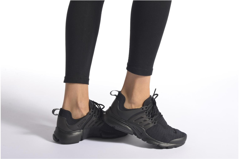 Baskets Nike W Air Presto Noir vue bas / vue portée sac