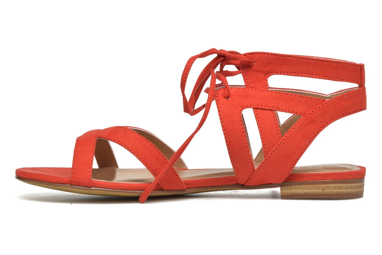 Sandalen I Love Shoes FELICE rot ansicht von vorne