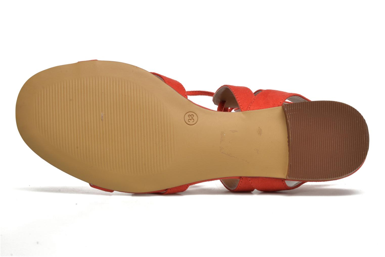 Sandalen I Love Shoes FELICE rot ansicht von oben