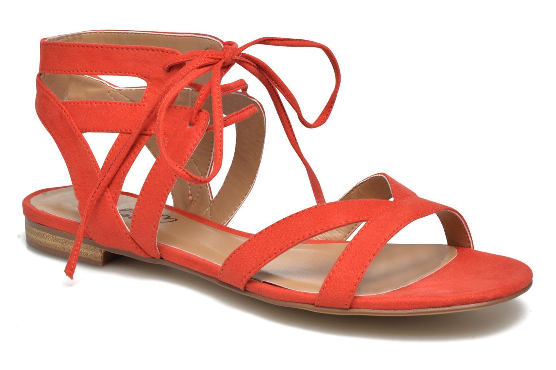 Sandaler I Love Shoes FELICE Rød detaljeret billede af skoene