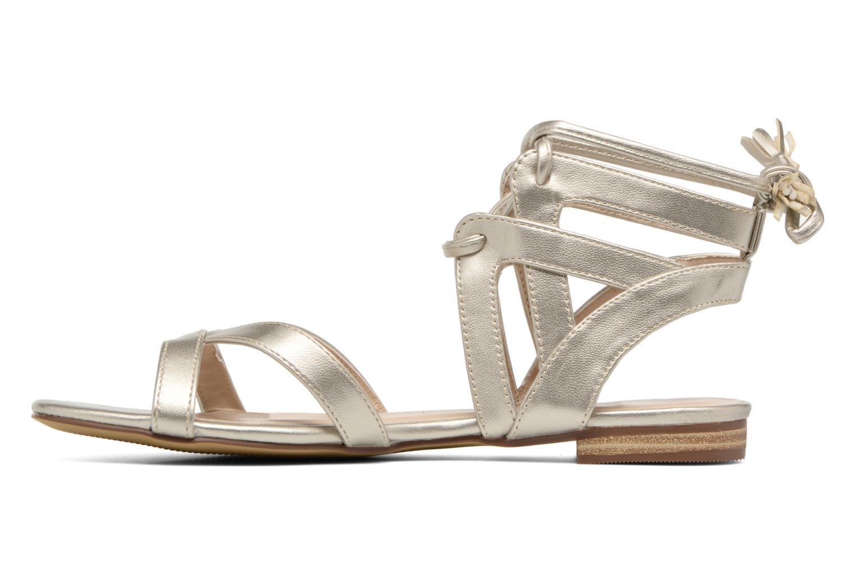 Sandalen I Love Shoes FELICE gold/bronze ansicht von vorne