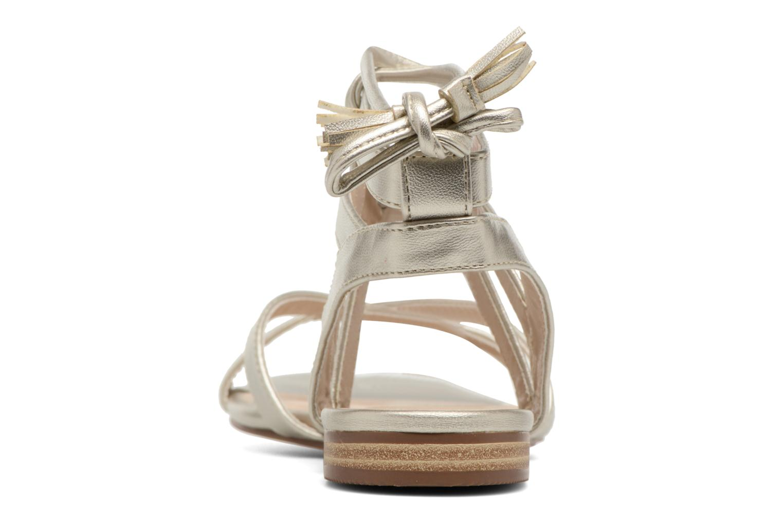 Sandali e scarpe aperte I Love Shoes FELICE Oro e bronzo immagine destra