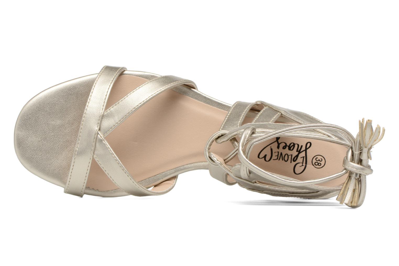 Sandalias I Love Shoes FELICE Oro y bronce vista lateral izquierda
