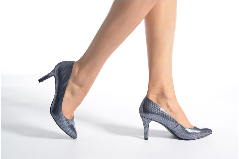 Escarpins I Love Shoes FIRONE Beige vue bas / vue portée sac