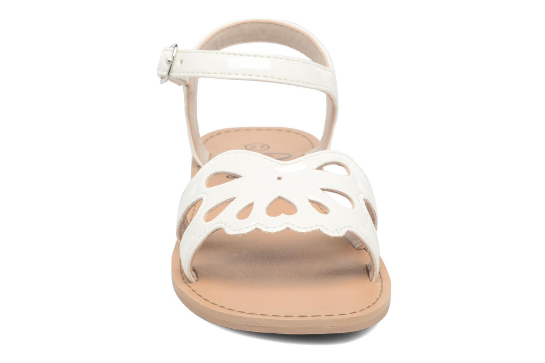 Sandales et nu-pieds I Love Shoes FIDELI Blanc vue portées chaussures