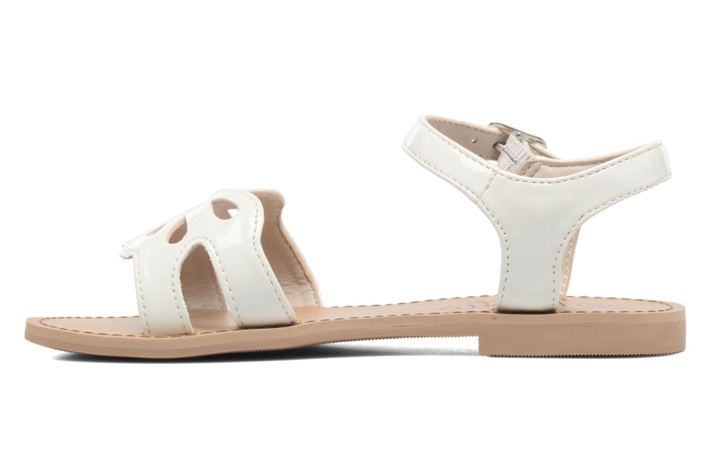 Sandales et nu-pieds I Love Shoes FIDELI Blanc vue face