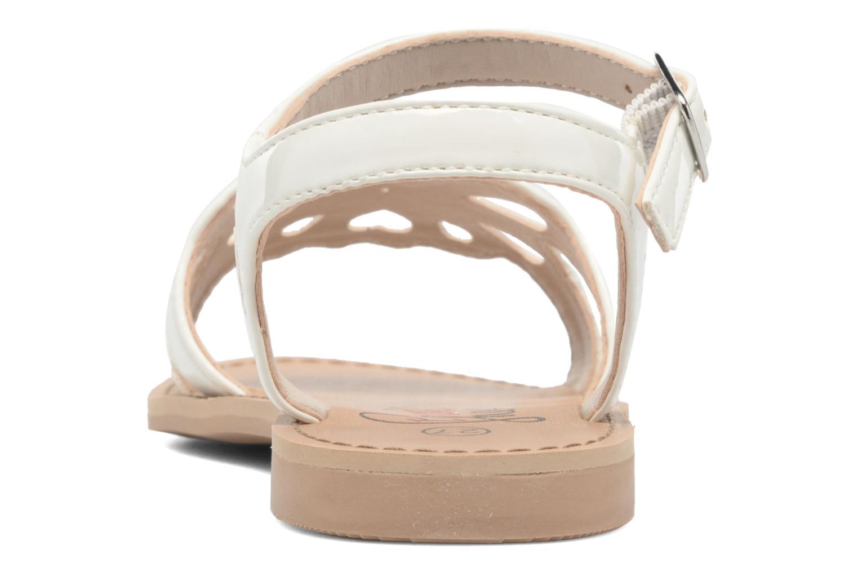 Sandales et nu-pieds I Love Shoes FIDELI Blanc vue droite