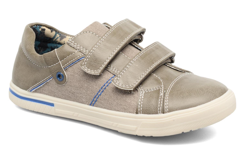 Baskets I Love Shoes FILLIP Gris vue détail/paire