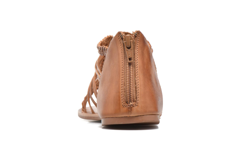 Sandales et nu-pieds I Love Shoes KEMIA Leather Marron vue droite