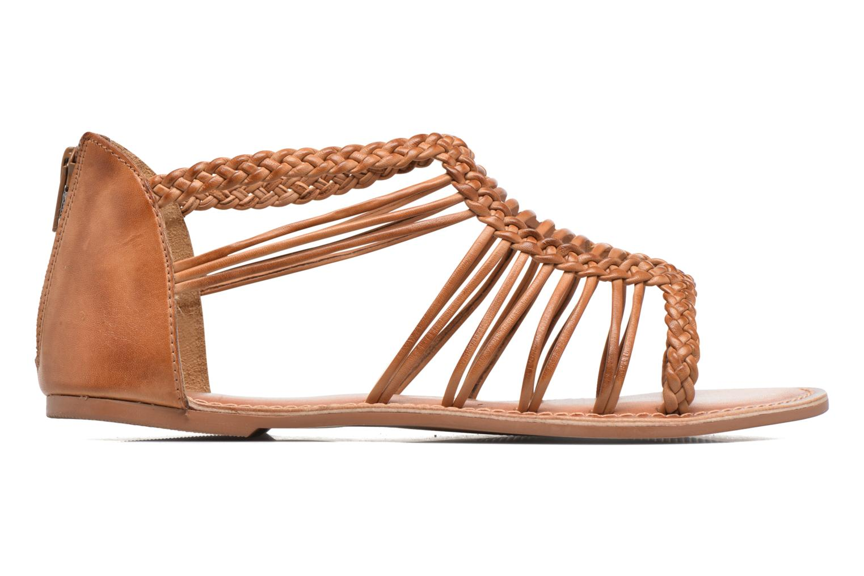 Sandalen I Love Shoes KEMIA Leather Bruin achterkant