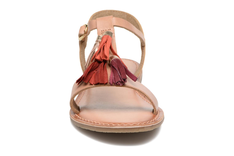 Sandales et nu-pieds I Love Shoes KEPOM Leather Marron vue portées chaussures