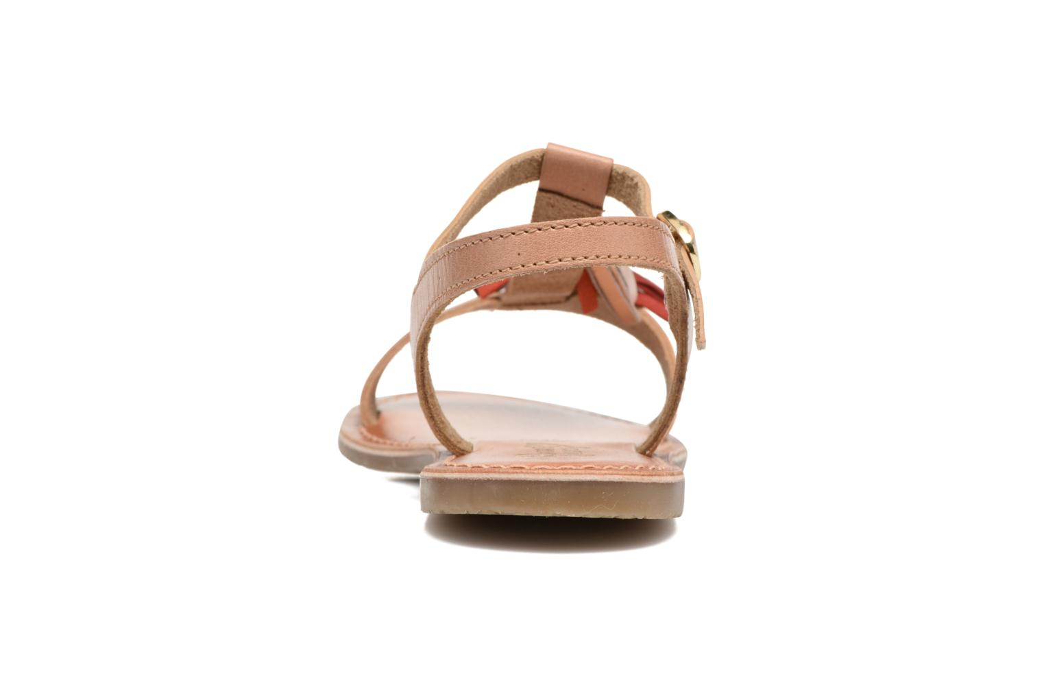Sandalen I Love Shoes KEPOM Leather braun ansicht von rechts