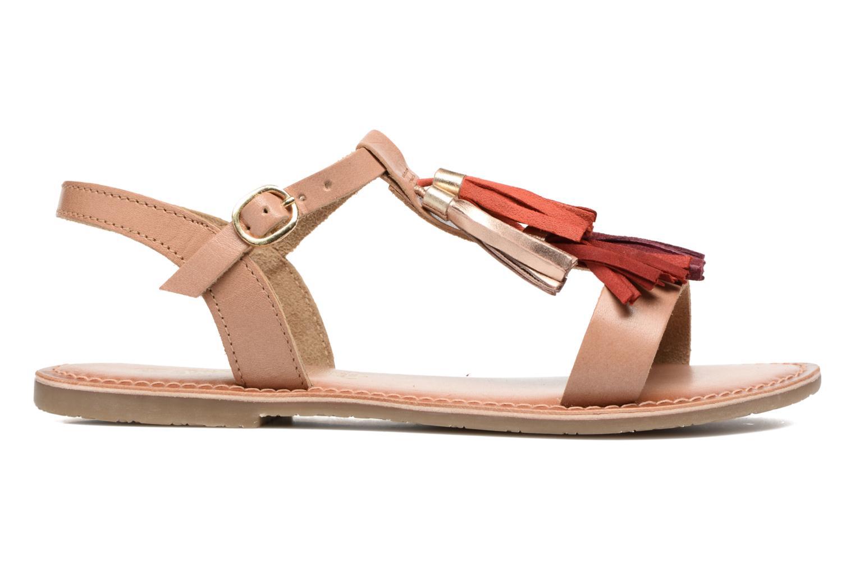 Sandales et nu-pieds I Love Shoes KEPOM Leather Marron vue derrière