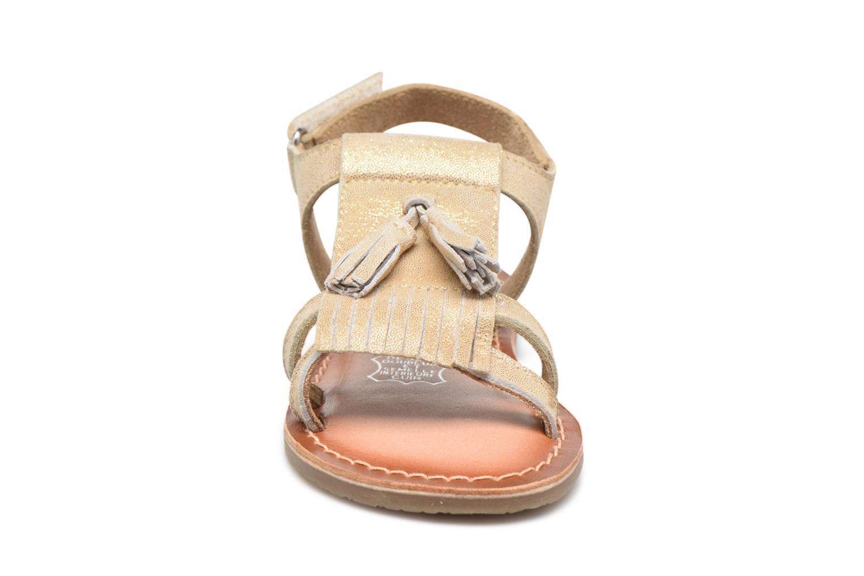 Sandales et nu-pieds I Love Shoes KEFRAN Leather Or et bronze vue portées chaussures