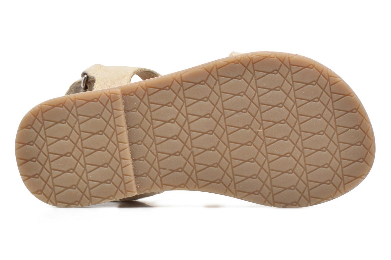 Sandales et nu-pieds I Love Shoes KEFRAN Leather Or et bronze vue haut