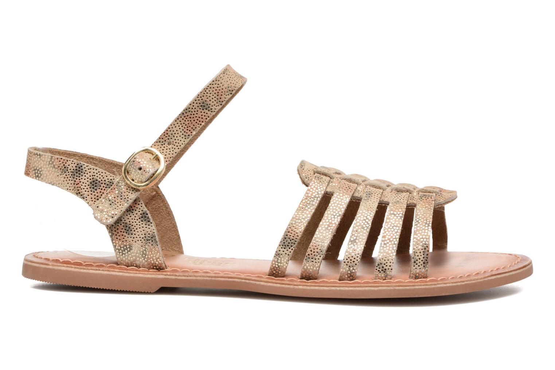 Sandales et nu-pieds I Love Shoes KEGLIT Leather Beige vue derrière