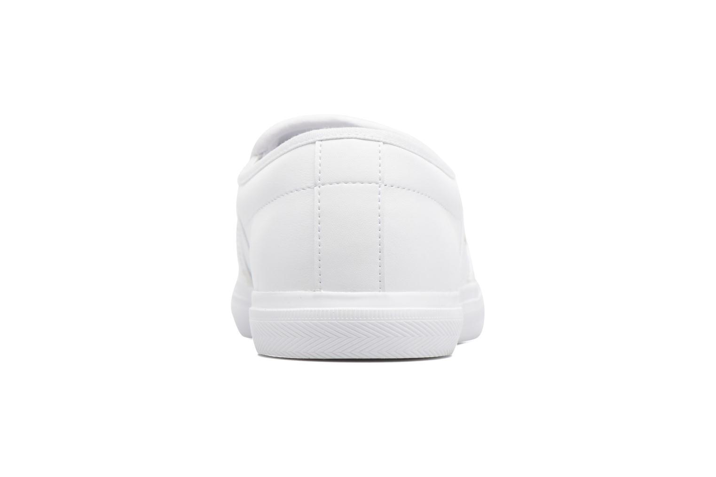 Baskets Lacoste Gazon Bl 1 Blanc vue droite