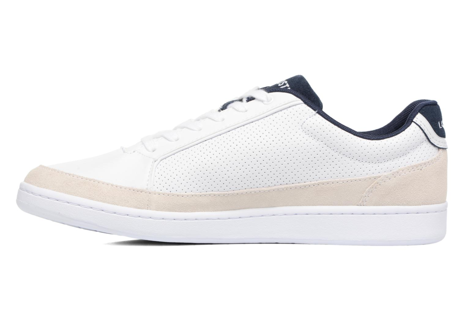 Baskets Lacoste Setplay 117 1 Blanc vue face