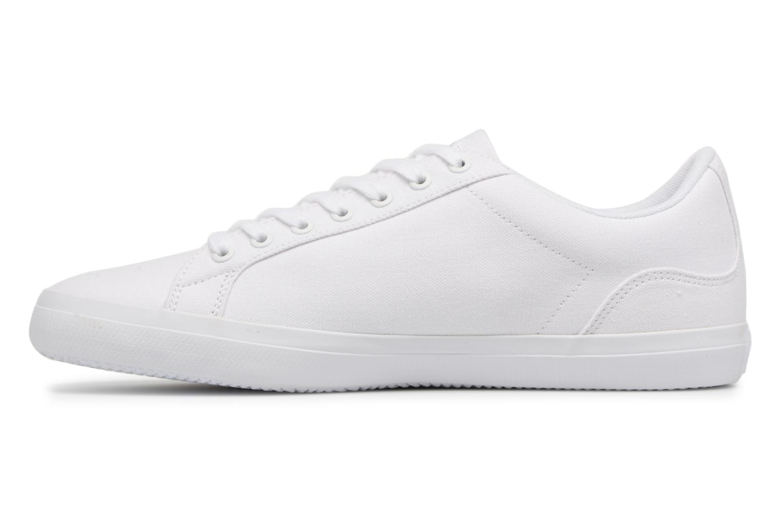 Sneakers Lacoste Lerond BL 2 Bianco immagine frontale