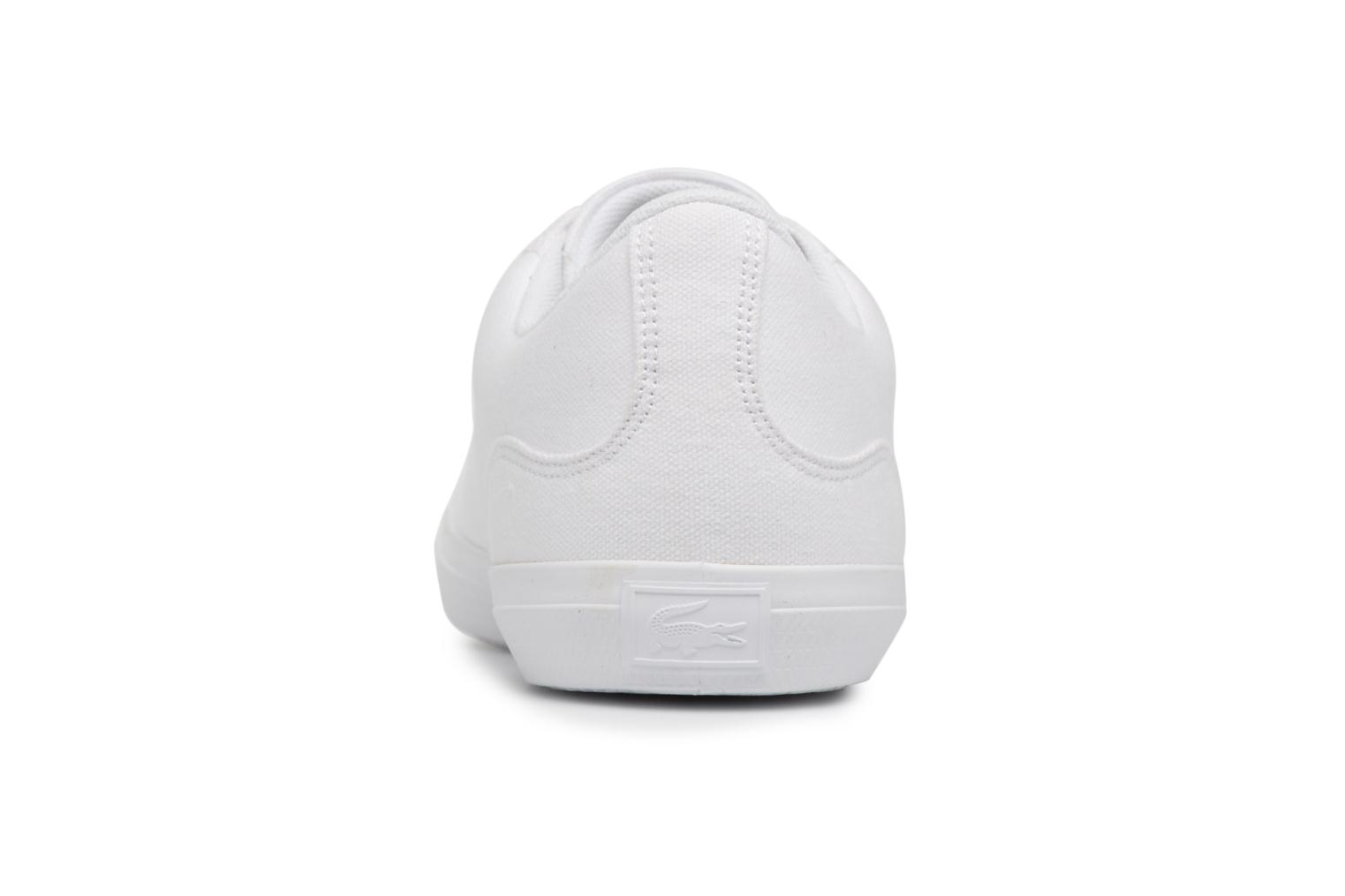 Trainers Lacoste Lerond BL 2 White view from the right