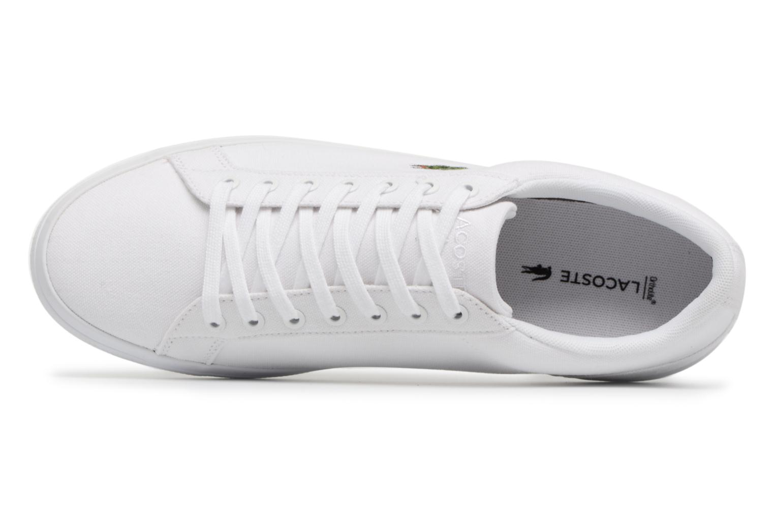 Trainers Lacoste Lerond BL 2 White view from the left