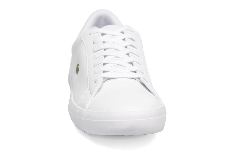 Sneaker Lacoste Lerond BL 1 weiß schuhe getragen