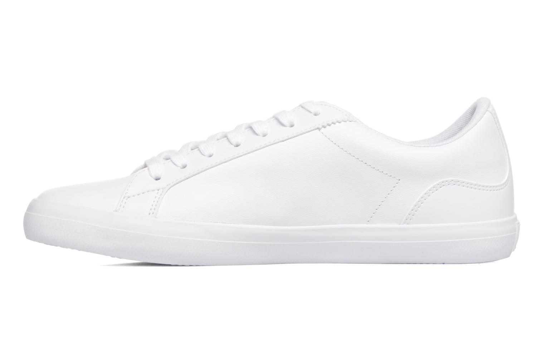 Sneaker Lacoste Lerond BL 1 weiß ansicht von vorne