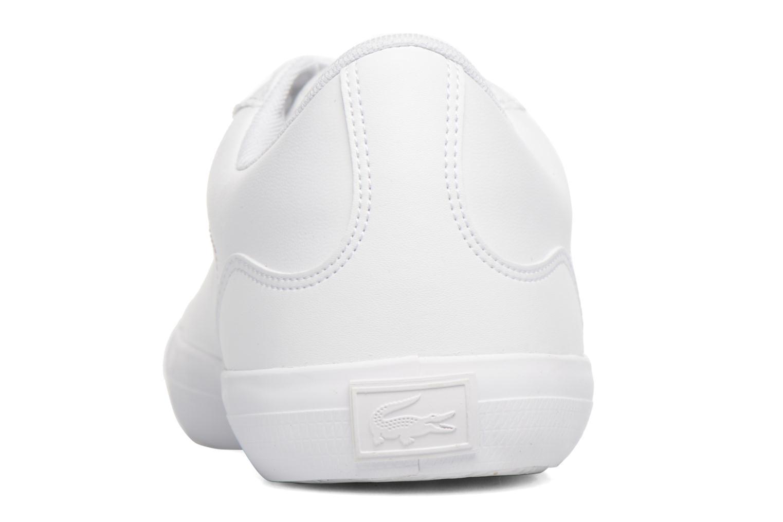 Sneaker Lacoste Lerond BL 1 weiß ansicht von rechts