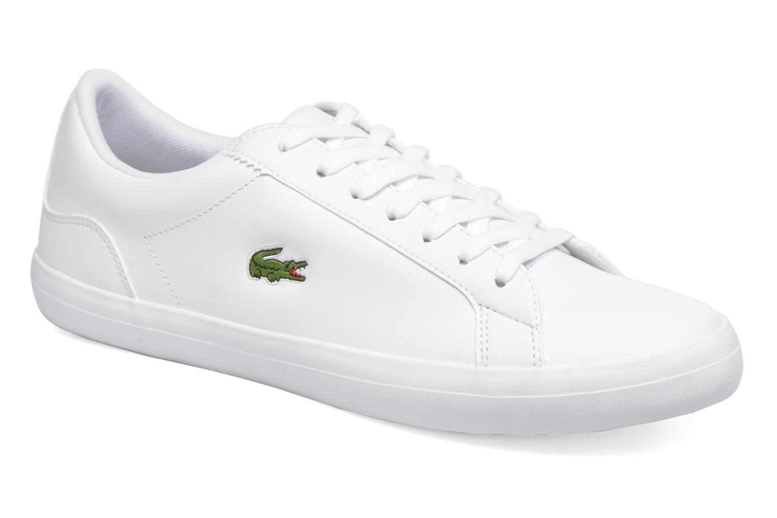 Trainers Lacoste Lerond BL 1 White detailed view/ Pair view