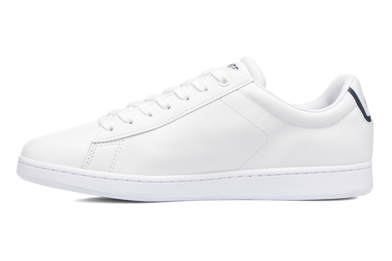 Baskets Lacoste Carnaby Evo BL 1 Blanc vue face