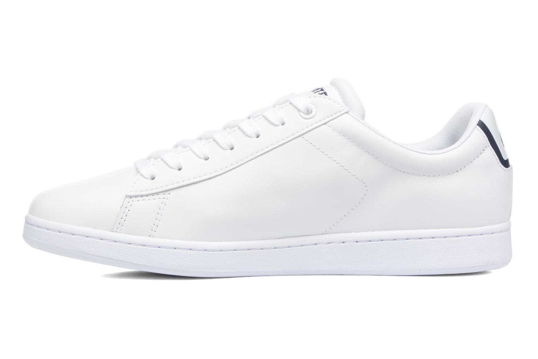 Sneaker Lacoste Carnaby Evo BL 1 weiß ansicht von vorne
