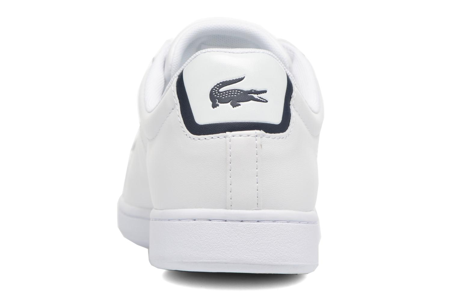 Trainers Lacoste Carnaby Evo BL 1 White view from the right