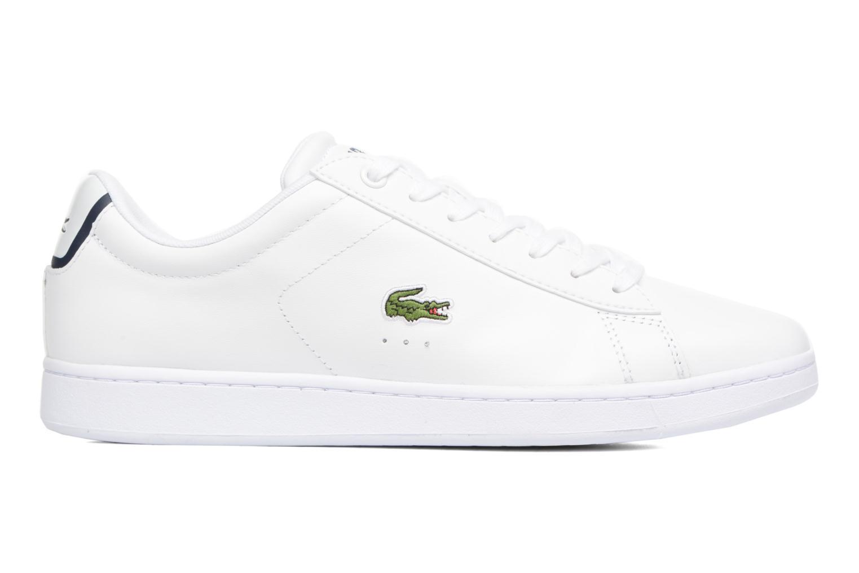 Sneaker Lacoste Carnaby Evo BL 1 weiß ansicht von hinten