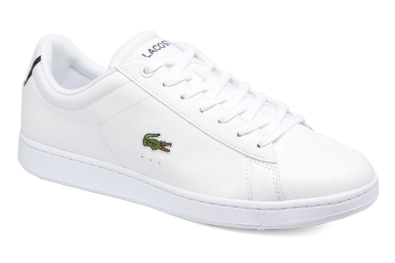 Sneakers Lacoste Carnaby Evo BL 1 Vit detaljerad bild på paret