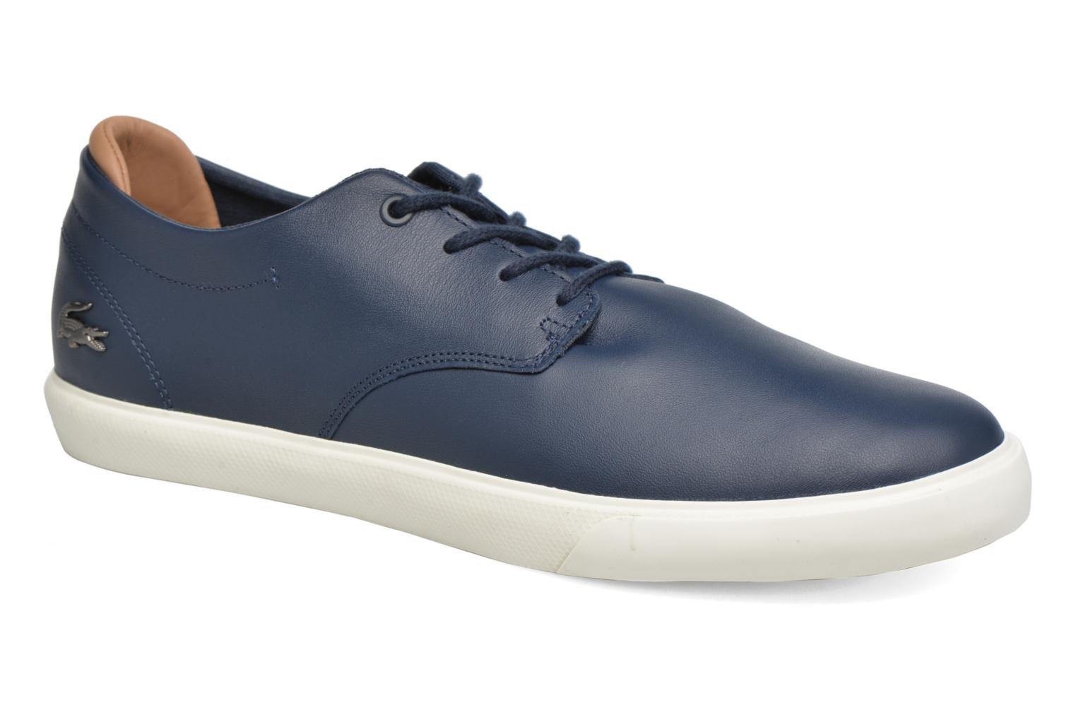 Trainers Lacoste Espere 117 1 Blue detailed view/ Pair view