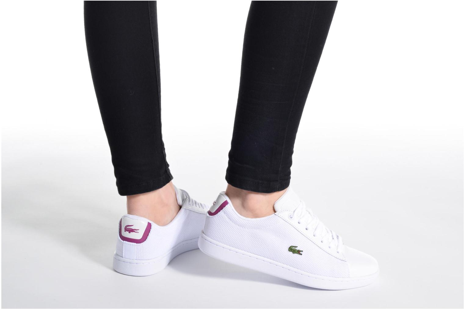 Sneakers Lacoste Carnaby Evo 117 5 Bianco immagine dal basso